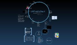 LIST 4373 Day 1