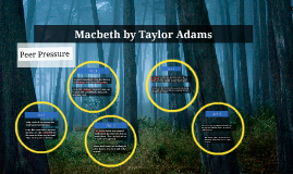 Macbeth by Taylor Adams