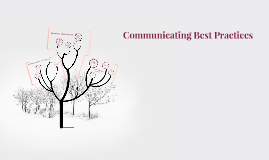 Communicating Best Practices