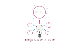 Stratégie de vente La Patente