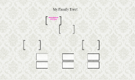 My Family Tree!