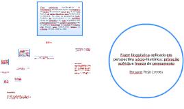Fazer linguística aplicada em perspectiva sócio-histórica: p