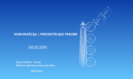 Komunikācija | prezentācijas prasme