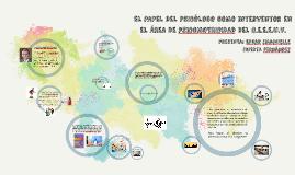 Copy of El papel del psicologo en el area de psicomotricidad