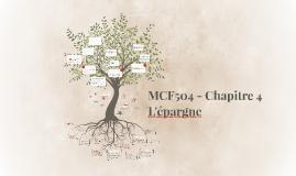 MCF504 - Chapitre 4