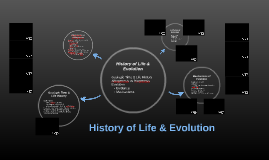 Copy of History of Life & Evolution