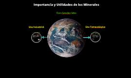 Minerales para uso industrial y farmacéutico