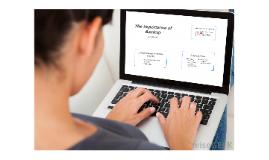 Advantages to Online Backup