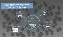 urbanization and migration in communist Romania