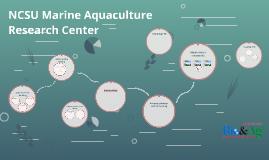 NCSU Marine Aquaculture Research Center