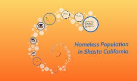 Homeless Population in Shasta California