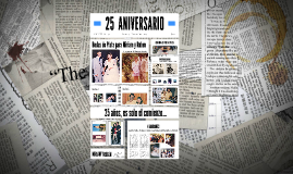 Copy of 25  ANIVERSARIO