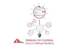 Médecins Sans Frontières                               (Doct