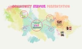 Community Service Presentation