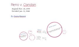 Copy of Reno v. Condon