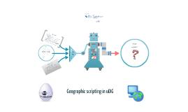 Geographic scripting in uDIG (User-friendly Desktop Internet GIS)