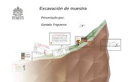 Copy of Copy of Excavaciòn de muestra