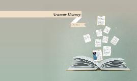 Seamus Heaney (13 April 1939 – 30 August 2013)