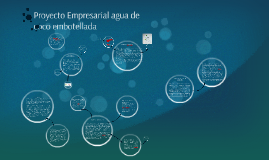 Copy of Proyecto Empresarial agua de coco embotellada