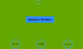The Economic Way of Thinking
