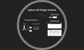 Ingham ISD Budget Analysis