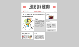 Copy of Copy of LETRAS CON VERDAD