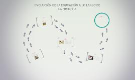 EVOLUCIÓN DE LA FORMACIÓN