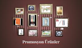 Promosyon Ürünler