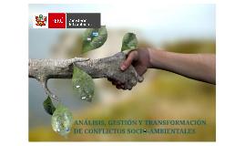 OAAS - Análisis, gestión y Transformación de Conflictos Socio-Ambie