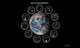 Quiz da Sustentabilidade.