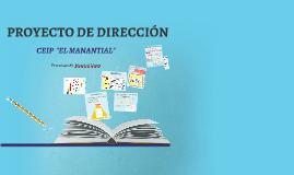 """El Manantial Exposición Proyecto de Dirección """"El Manantial"""""""