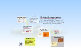 Präventionssysteme