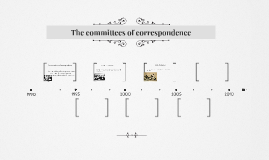 The committees of correspondence