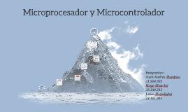 Microprocesador y Microcontrolador
