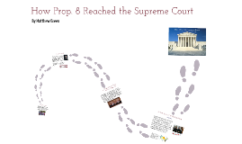 Prop. 8: Path to the Supreme Court