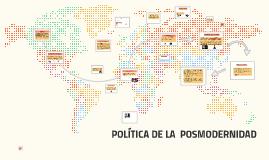 Copy of POLITICA POSMODERNA