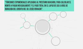 """""""FUNCIONES EXPONENCIALES APLICADAS AL PRESTAMO BANCARIO, PAR"""