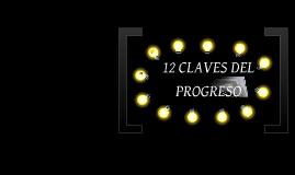 12 CLAVES DEL PROGRESO