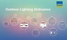 Copy of Outdoor Lighting Ordinance
