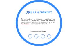 ¿Que es la diabetes?
