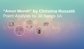 "Copy of ""Amor Mundi"" by Christina Rossetti"