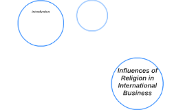 Influences of Religion in International Business