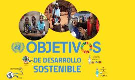 DE DESARROLLO SOSTENIBLE