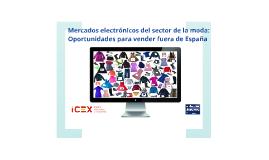 Mercados electrónicos del sector de la moda: oportunidades para vender fuera de España
