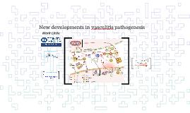 New developments in vasculitis pathogenesis CV society