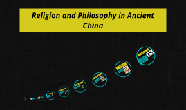 Religion and philosophy in ancient china