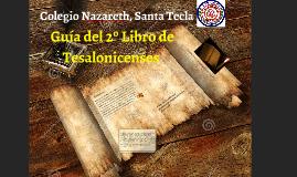 2ª CARTA DE TESALONICENSES JOSÉ/SV