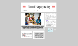Community language learning (CLL) is a language-teaching app