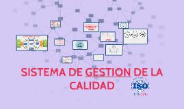 Copy of SISTEMA DE GESTION DE LA CALIDAD