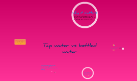 botted water vs tap water